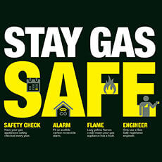 How to maintain gas safety at home?