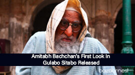 The Legend Amitabh Bachchan Is Back With A New Look In Gulabo Sitabo