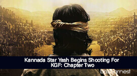 Kannada Star Yash Begins Shooting For KGF: Chapter Two