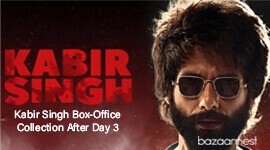 Kabir Singh Box-Office Collection After Day 3