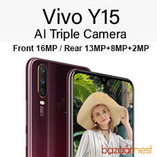 Vivo Y15 Launches with 3 Rear Cameras, 5000mAh Battery
